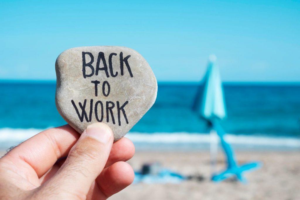 keep the stress off returning to work with Dr. Davenport Sarasota, FL Psychologist